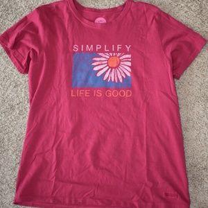 Life is Good Short Sleeve Shirt